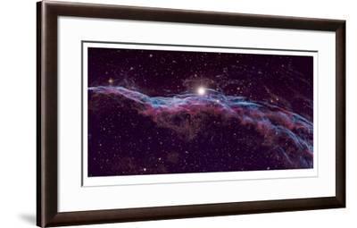 Veil Supernova Remnant-Robert Gendler-Framed Giclee Print