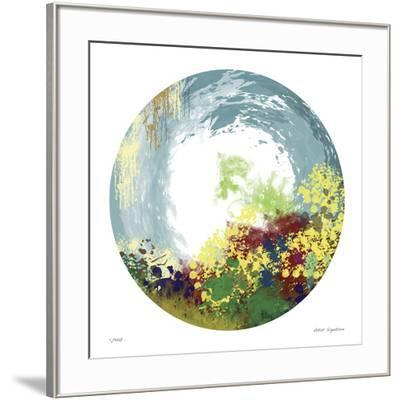 Earth Layers V-Jan Weiss-Framed Giclee Print
