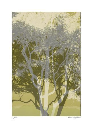 Views of Trees 3-Mj Lew-Framed Giclee Print