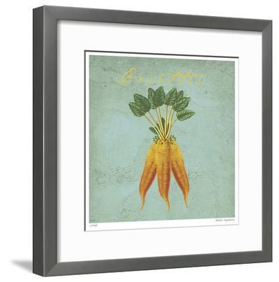 Carottes-Paula Scaletta-Framed Giclee Print