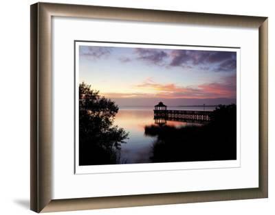 Sunset III-Matthew Lusk-Framed Giclee Print