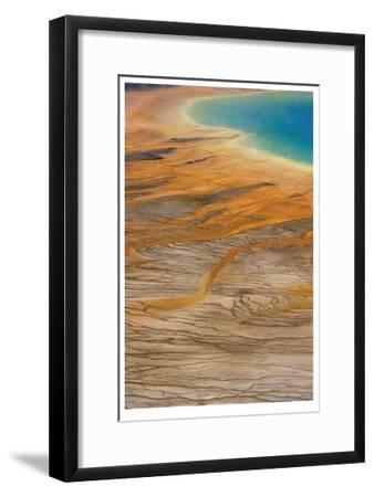 Grand Prismatic Spring II-Donald Paulson-Framed Giclee Print