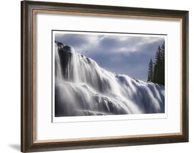 Dawson Falls II-Donald Paulson-Framed Giclee Print