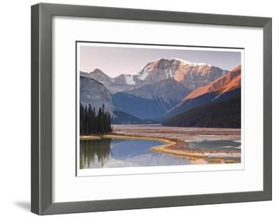 Mount Kitchener Reflection-Donald Paulson-Framed Giclee Print