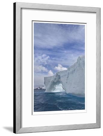 Iceberg Arch-Donald Paulson-Framed Giclee Print
