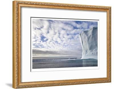 Wall of Ice-Donald Paulson-Framed Giclee Print