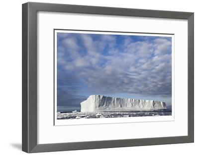 Island of Ice-Donald Paulson-Framed Giclee Print