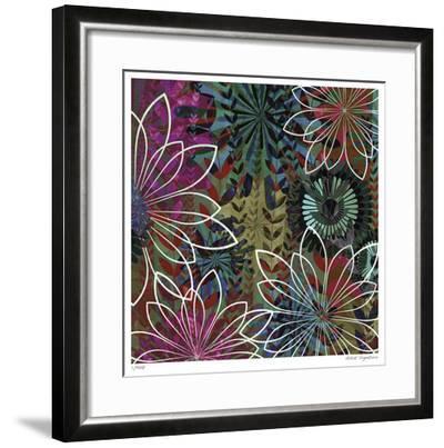 Night Garden III-James Burghardt-Framed Giclee Print