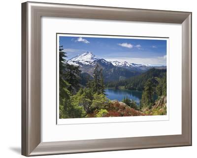Mount Baker-Donald Paulson-Framed Giclee Print
