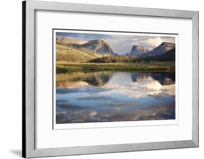 Squaretop Mountain I-Donald Paulson-Framed Giclee Print