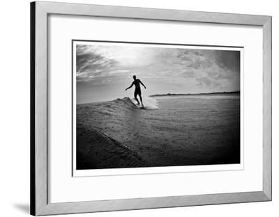 Longboard-Matthew Lusk-Framed Giclee Print