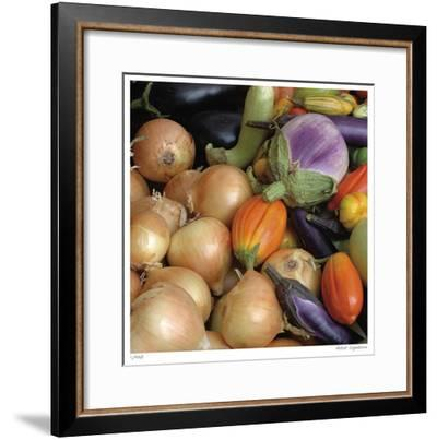 Garlic-Stacy Bass-Framed Giclee Print