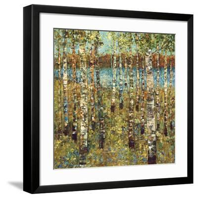 Purple Birch-Carmen Dolce-Framed Art Print