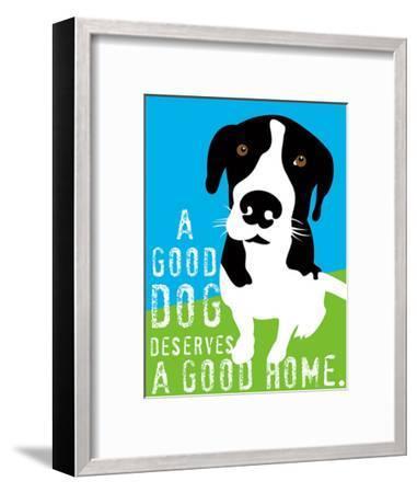 A Good Dog-Ginger Oliphant-Framed Art Print