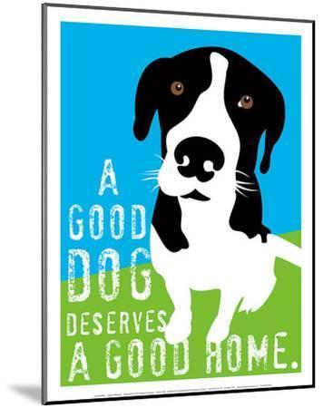 A Good Dog-Ginger Oliphant-Mounted Art Print