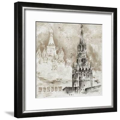 Moscow-Dominguez-Framed Art Print