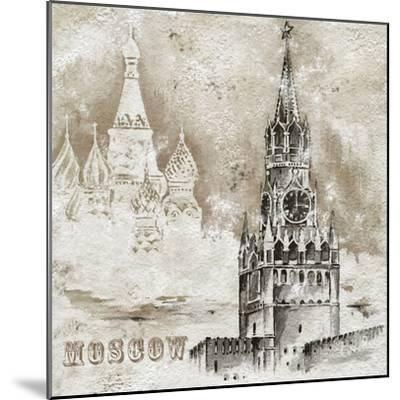 Moscow-Dominguez-Mounted Art Print