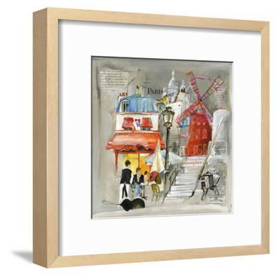 Paris Moulin Rouge-Lizie-Framed Art Print