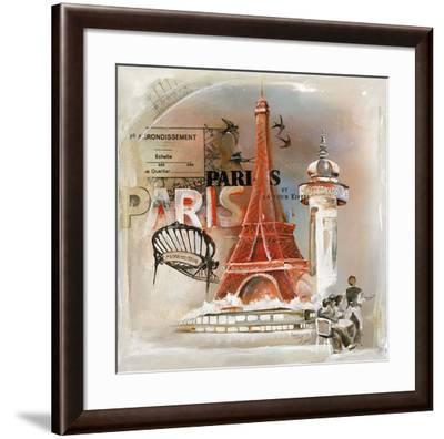 Paris Tour Eiffel-Lizie-Framed Art Print
