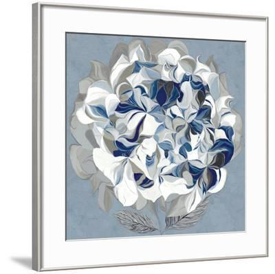 Elegant Hydrangea II-Sally Scaffardi-Framed Art Print