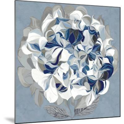 Elegant Hydrangea II-Sally Scaffardi-Mounted Art Print