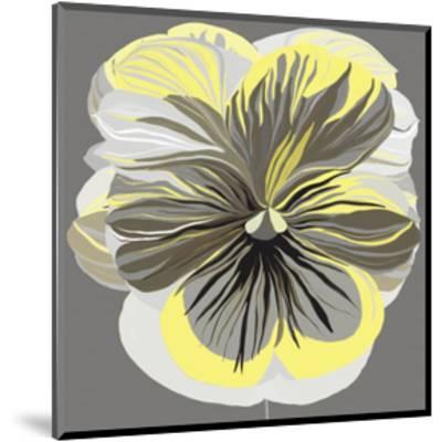 Pansies II-Sally Scaffardi-Mounted Art Print