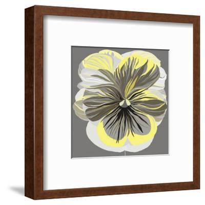 Pansies II-Sally Scaffardi-Framed Art Print