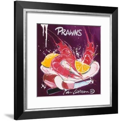 Prawns-El Van Leersum-Framed Art Print