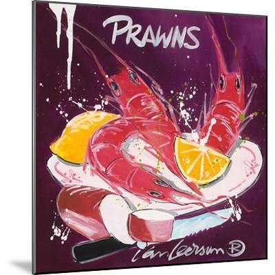 Prawns-El Van Leersum-Mounted Art Print
