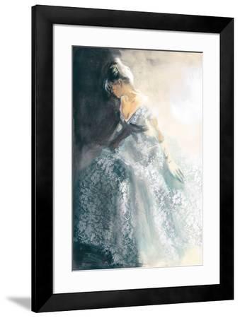White Aubretia-Sharon Pinsker-Framed Art Print