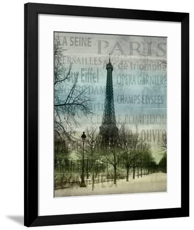 Paris II-Alan Lambert-Framed Art Print