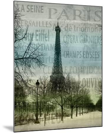Paris II-Alan Lambert-Mounted Art Print