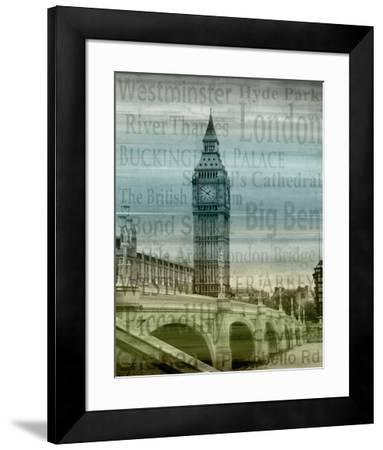 Big Ben-Alan Lambert-Framed Art Print
