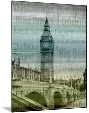 Big Ben-Alan Lambert-Mounted Art Print