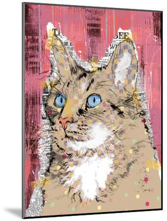 Poppet Cat IV-Ken Hurd-Mounted Art Print