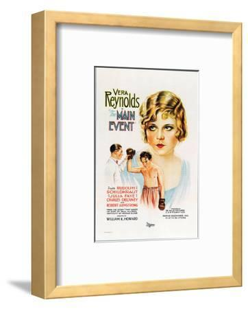 The Main Event - 1927--Framed Giclee Print