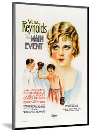 The Main Event - 1927--Mounted Giclee Print