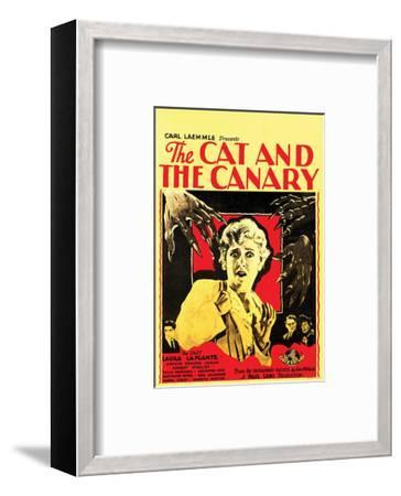 The Cat And The Canary - 1927 III--Framed Giclee Print