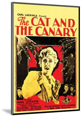 The Cat And The Canary - 1927 III--Mounted Giclee Print