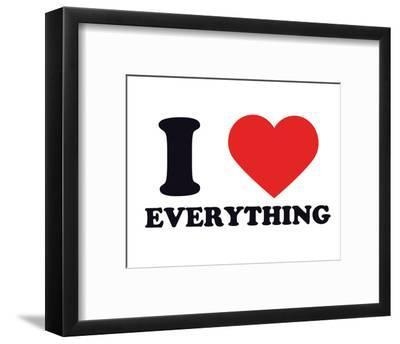 I Heart Everything--Framed Giclee Print