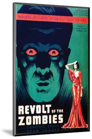 Revolt Of The Zombies - 1936--Mounted Giclee Print