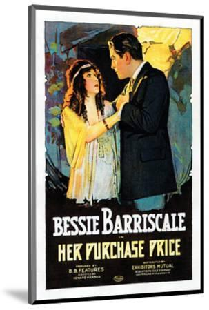 Her Purchase Price - 1919--Mounted Giclee Print