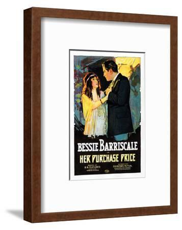 Her Purchase Price - 1919--Framed Giclee Print