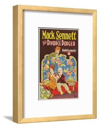 The Divorce Dodger - 1926--Framed Giclee Print