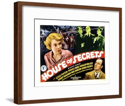 House Of Secrets - 1936 I--Framed Giclee Print