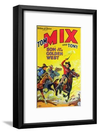 Son Of The Golden West - 1928--Framed Giclee Print
