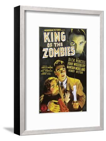 King Of The Zombies - 1941 II--Framed Giclee Print