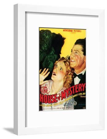 House Of Mystery - 1934 I--Framed Giclee Print