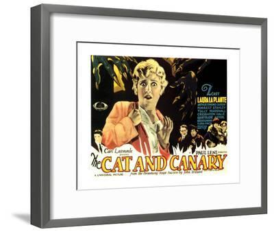 The Cat And The Canary - 1927 I--Framed Giclee Print