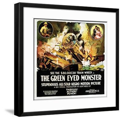 The Green Eyed Monster - 1919--Framed Giclee Print